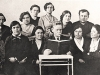 Профессор П.И. Чистяков с коллегами