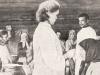 П.И. Чистяков на амбулаторном приеме в глазном отряде (деревня Сосновка Сарапульского уезда)