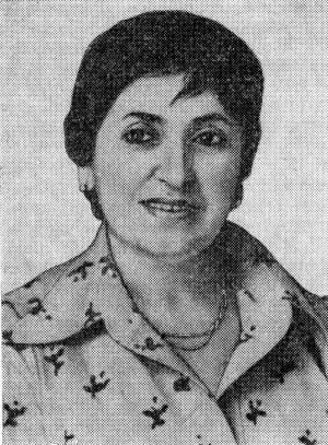 АЛИЕВА Зарифа Азизовна (1923—1985)
