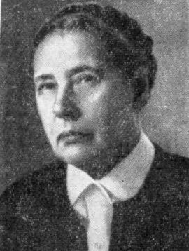 БИРИЧ Татьяна Васильевна (1905—1993)