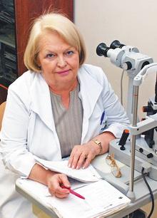 Главная должность — врач-офтальмолог. К юбилею заслуженного врача РФ, к.м.н. Э.Л. Сапегиной
