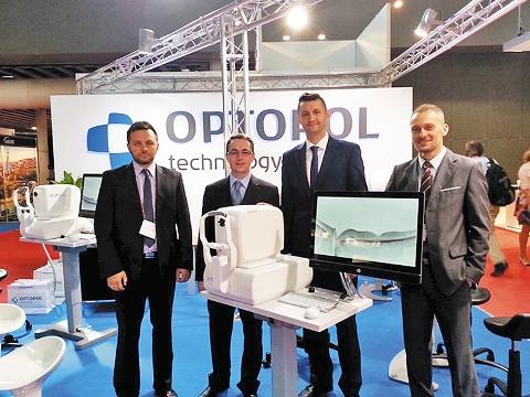 Команда Optopol на XXXIII Конгрессе ESCRS. Сентябрь 2015 г., Барселона, Испания
