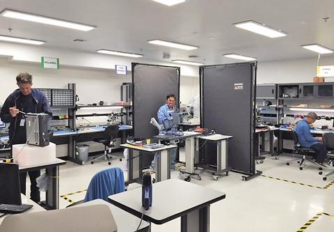 Производственное помещение на заводе в США