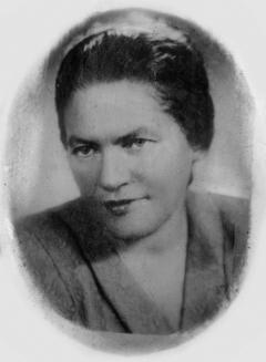 ХУРГИНА Елизавета Абрамовна (01.11.1900 – 07.1950)