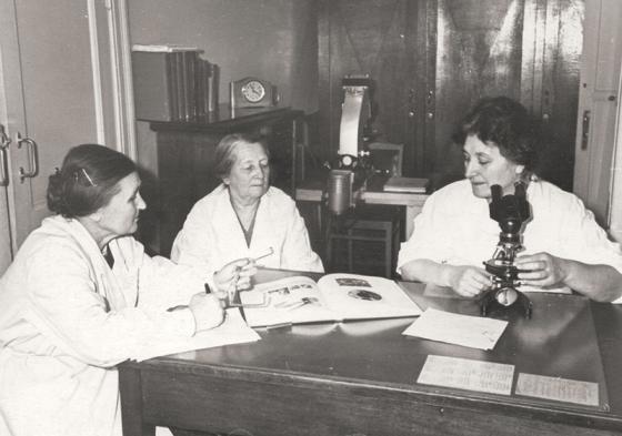 Руководство Госпиталя № 5011 в декабре 1944 года