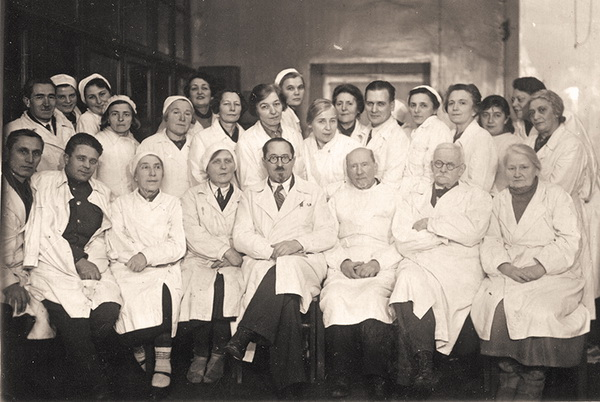 Московская глазная больница в годы Великой Отечественной войны