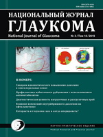«Национальный журнал глаукома» №3, 2019