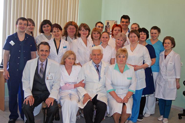 Заведующий офтальмологическим отделением Ленинградской областной клинической больницы, главный офтальмолог Ленинградской области, к.м.н. О.А.Синявский:  «Областная больница – это не «Золушка» отечественного здравоохранения»