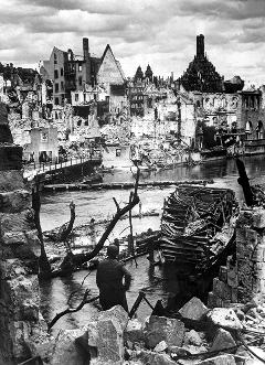Послевоенная Бавария, 1945 г.
